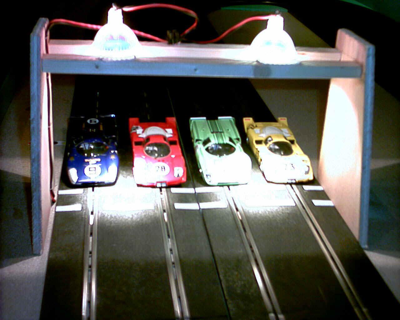 Ultimate Racer Slot Car Sensors Track Wiring Light Bridge