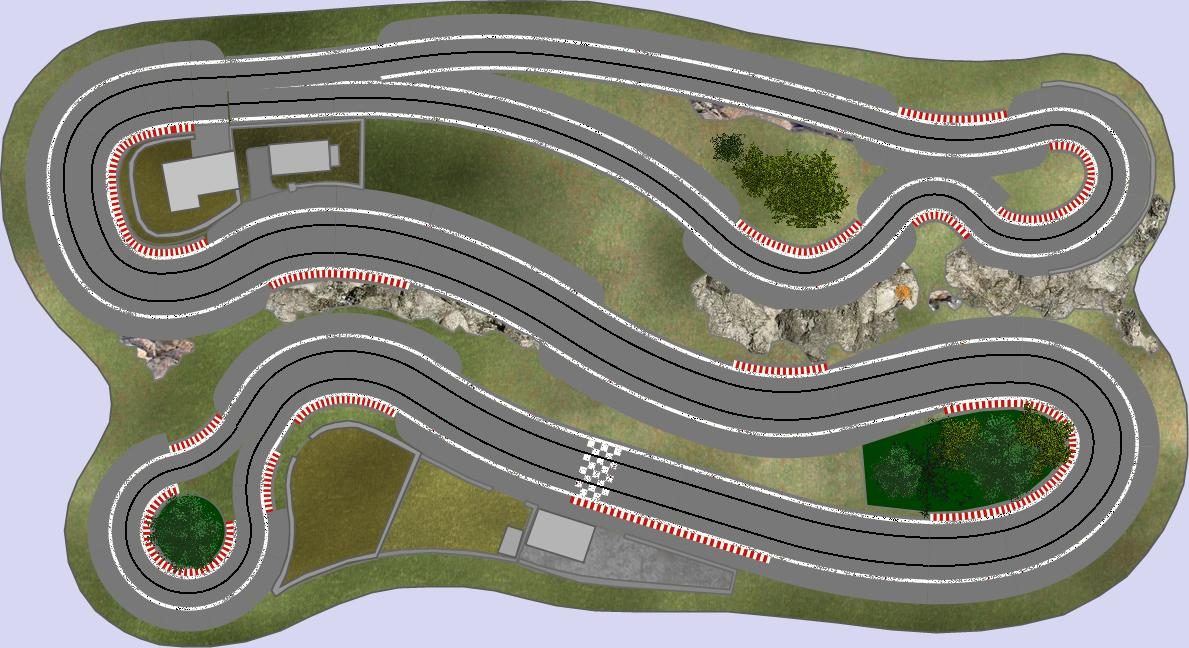 Scalextric Slot Car Layouts Related Keywords